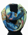 Lightweight Starfish and Flower Design Infinity Scarf Assorted Dozen #608