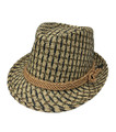 Fashion Summer Straw Hat Tan # H8005-4