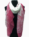 Lightweight Paisley Design Scarf Assorted Dozen #712