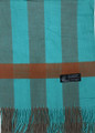 Cashmere Feel Scarves Turquoise K 69-21