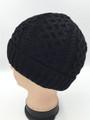 Unisex Beanie Hats Black Dozen #H1141Bk