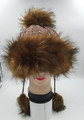 Knit Cable Hats with Soft Faux Fur Assorted Dozen #H1170
