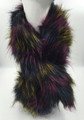 Super Soft Faux Fur  Warm Scarf Multi Color  #S 80-1