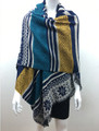 Multi  Color Shawl Scarf Assorted Dozen # s85