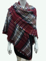 Womens Stylish shawl  Scarf  Red # P171-2