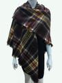 Women's Stylish shawl  Scarf  Brown # P171-1028