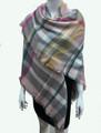 Women's Stylish shawl  Scarf   Pink # P171-10224