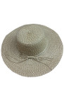 Summer Straw Floppy String Band with Sequins Hat Brown #8033-5