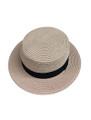 Unisex Summer Straw Sun Hat Pink #8018-3