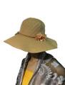 Summer Straw Floppy String Band with Flower Hat Assorted Dozen #8032