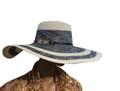 Summer Straw Floppy Rhinestone Band Hat Assorted Dozen #8035