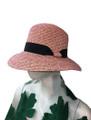 Summer Straw Two Tone Hat Assorted Dozen #8037