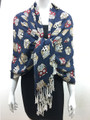 New!   owl Print Pashmina  Assorted Dozen #P123