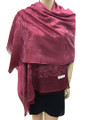 New! Stylish Metallic Pashmina Red Dozen #125-4