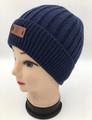 Unisex Beanie Knit Hats  Black Dozen #H1192