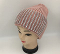 New! Ladies' Stylish Slouchy Rhinestone Stone knit  Hats Assorted Dozen #H1222
