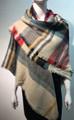 Women's Stylish shawl  Scarf  Beige # P171-1023