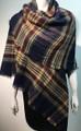 Women's Stylish shawl  Scarf  Navy # P171-10211