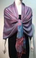 Pashmina Paisley Blue / pink #50-53