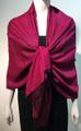 Pashmina Paisley  hot pink / black#50-67