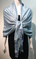 Pashmina Paisley  light blue #50-57