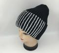 New! Ladies' Stylish Slouchy Rhinestone Stone knit  Hats Black #H1222