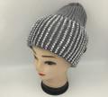 New! Ladies' Stylish Slouchy Rhinestone Stone knit  Hats Gray #H1222