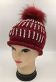New! Ladies' Stylish Slouchy Rhinestone Stone knit  Hats Assorted Dozen #H1173