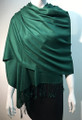 Pashmina Solid Hunter Green #2-49