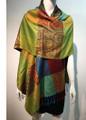 New! Pashmina Paisley Design Rainbow Dozen  #132-4
