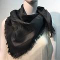 Square Paisley scarf  Gray # 137-4