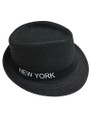 Summer Straw New York Fedora Hat #8027-6