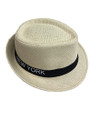 Summer Straw New York Fedora Hat  #8027-9