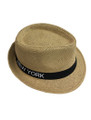 Summer Straw New York Fedora Hat #8027-10