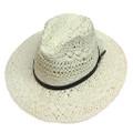 Fashion Summer Straw Hat Ivory # H8029-2