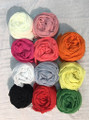 Solid Color  Scarf Assorted Dozen  #87412
