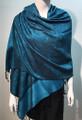 Pashmina Paisley Turquoise / Black  #50-19