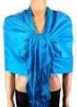 Pashmina Solid Turquoise #2-14
