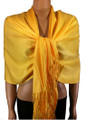 Pashmina Solid Yellow #2-27