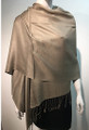 Pashmina Solid Taupe #2-30