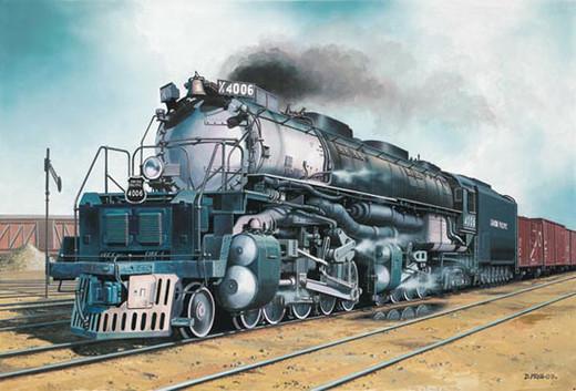 Big Boy Train Toys : Revell big boy locomotive model train kit