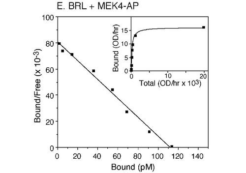 Receptor/Ligand Binding Assay using AP Assay Reagent A