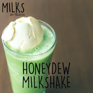 Honeydew Milkshake | Milks By Teleos | 120ml (super Deal)