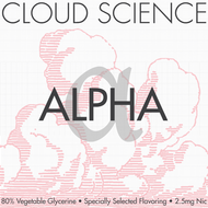 Alpha | Cloud Science by Teleos | 120ml (Super Deal)