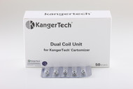 NEW DUAL COILS 10 PACKS OF 5 COILS 50 TOTAL COILS. ONLY $59.99 CLOSE OUT! WITH FREE SHIPPING