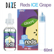 Reds Grape ICED  | Reds Apple Ejuice by 7 Daze | 60ml