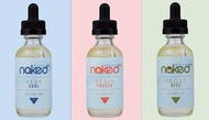 3 pack Menthol  Bundle  | Naked 100 Menthol by the Schwartz | 180ml