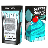 Blue Razz Cotton Candy | Sinful Shakes | 60ml