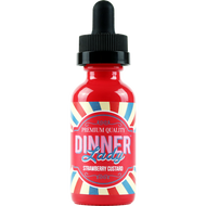 Strawberry Custard | Dinner Lady Premium E-Liquids | 60ml