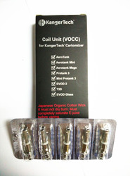 NEW ORGANIC JAPANESE COTTON DUAL COILS VOCC KANGERTECH KANGER  $6.99 FINAL CLOSE OUT